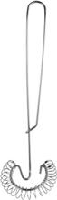 Spiralvisp i rostfritt stål, 27 cm