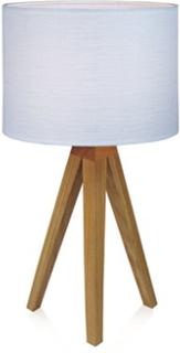 Markslöjd Kullen Bordlampe Eg/Hvid 22,5 cm Markslöjd