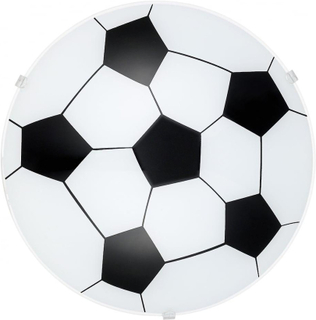 EGLO pojkar rum fotboll glas taklampa
