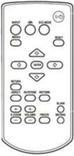 RM PJ8 - vanlig fjärrkontroll