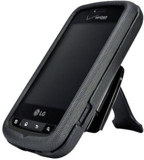 Body Glove hårda Snap-On fallet för LG upplysa VS700 - svart