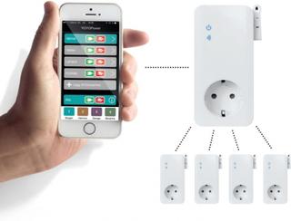 Fjärrstyrd strömbrytare GSM