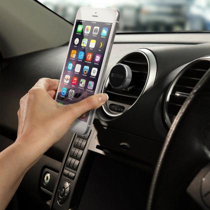 Magnetisk mobilhållare för bilen, Silver