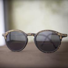 Sol- och läsglasögon, Brun +2.0