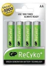 ReCyko+ batterier AA