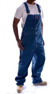 Dickies Denim cowboybukser - Stonewash Dickies 8396SNB Herre arbejd...