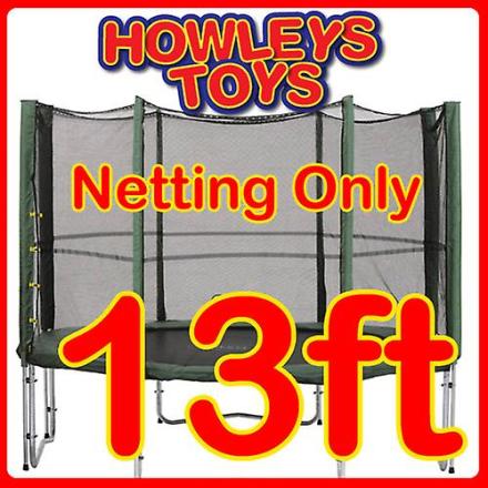 Howleys 13ft udskiftning Netting til trampolin kabinet