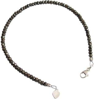 GS Pyrit armband armband ädelsten armband pyrit armband 925 Silver ...