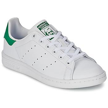 adidas Sneakers STAN SMITH J adidas - Spartoo