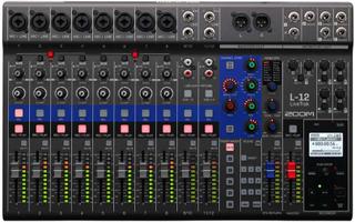 Zoom LiveTrak L-12 harddisk-recorder/audiointerface