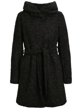 VILA Wool Jacket Women Black