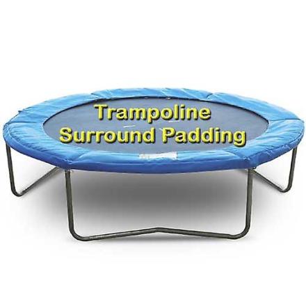 Blå 8 ft udskiftning trampolin Surround Pad