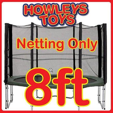 8ft udskiftning Netting (til trampolin kabinet)