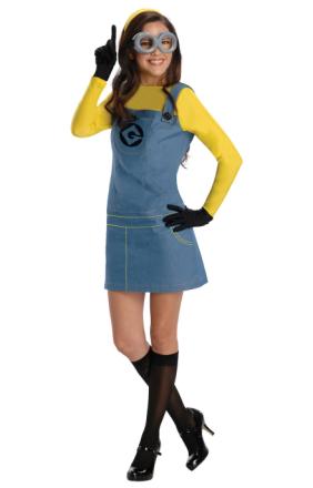 Kvindelige Minion foragtelige mig film licens kvinder kostume - Fruugo