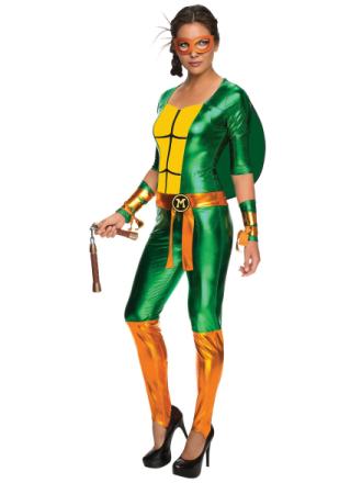 Michelangelo buksedragt Teenage Mutant Ninja Turtles superhelte kvi... - Fruugo