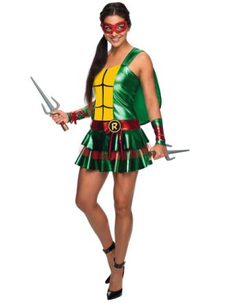 Raphael Raph sexet kjole Teenage Mutant Ninja Turtles superhelte kv... - Fruugo