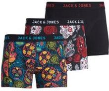 JACK & JONES 3-pack Med Boxershorts Man Svart