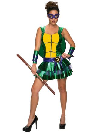 Donatello Don sexet kjole Teenage Mutant Ninja Turtles superhelte k... - Fruugo