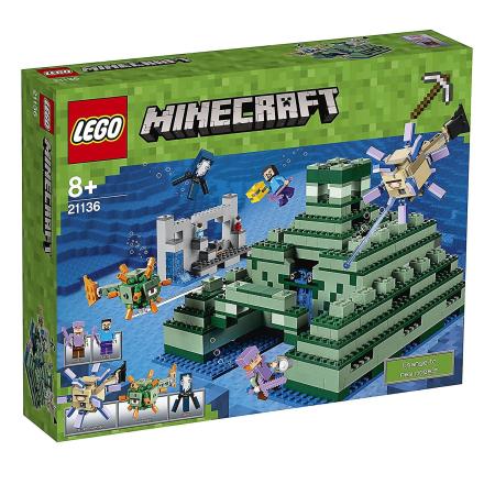LEGO Minecraft 21136 Ocean Monument legetøj - Fruugo