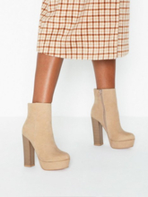 NLY Shoes High Heel Bootie Beige