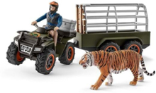 Wild life Quad bike with trailer and ranger