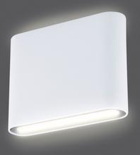 Smartwares Vägglampa LED upp/ner 9 W vit GWI-003-DH