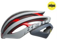 BELL Z20 MIPS Mat/Gls White/Crimson/Black, M