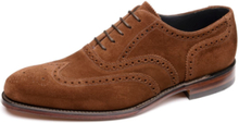 Loake Inverness Brown Suede