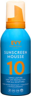 EVY Sunscreen Mousse 10 Low Protection SPF, 150 ml EVY Technology Solskydd & Solkräm