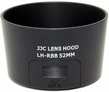 JJC ersättning Pentax PH-RBB 52mm lins Hood för sm