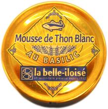 Basilikalla maustettu tonnikalatahna, 60 g