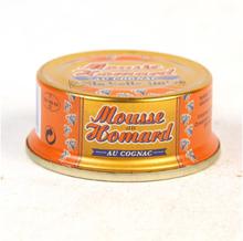 Konjakilla maustettu hummerimousse, 60 g