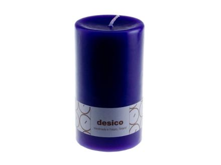 Desico Pöytäkynttilä, 14 cm violetti 3 kpl