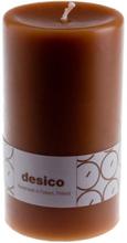 Desico Pöytäkynttilä, 14 cm keskiruskea 3 kpl
