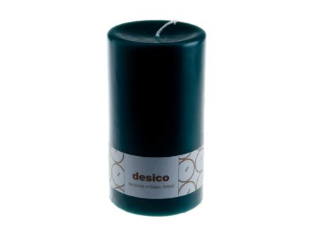Desico Pöytäkynttilä, 14 cm tummanvihreä 3 kpl