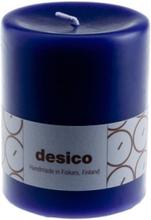 Desico Pöytäkynttilä, 10 cm violetti 6 kpl