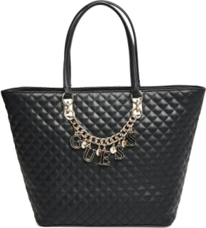 Guess Passion Tote Bags Shoppers Fashion Shoppers Svart GUESS