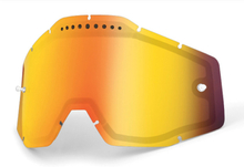 100% Vented Dual Replacement Lenses, red / mirror 2019 Ajolasitarvikkeet