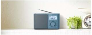 Bærbar radio XDR-S61D - DAB bærbar radio - Mono - Blå