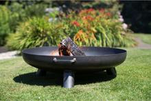 RedFire bålfad Salo sort stål 80 cm 81020