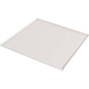 Drypbakke 60 cm til vaskemaskine / opvaskemaskine, hvid (afløbsbakke)