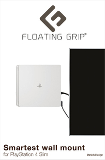 PS4 Slim Väggfäste - White
