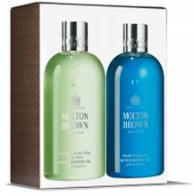 Molton Brown Dewy Lily of The Valley & Star Anise and Blissfull Templetree Bath & Shower Gel Duo