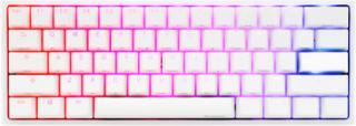 One 2 Mini Pure White - Cherry Brown RGB - Gaming Tastatur - Uden Numpad - Nordisk - Hvid