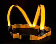 Reflexväst Protector med LED belysning Large