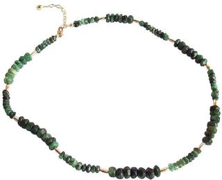 Emerald halsband Emerald halsband EVY facetterade Emerald halsband ...