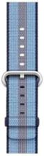 42mm Woven Nylon Band - Midnight Blue Stripe