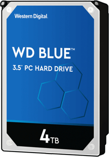 Western Digital 4TB WD Blue Hard Disk 3.5 inchmprove PC PerformanceGive your desktop a performance and storage boost when you combine your hard drive with an SSD to maximize speed of data access and a WD Blue drive for up to 6TB of additional capacity.Pla
