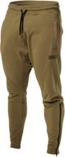Better Bodies Harlem Zip Pants, military green, xxlarge Träningsbyxor herr