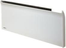 Glamox TPA El-radiator uten termostat 400W/400V, Hvit - 4 m²